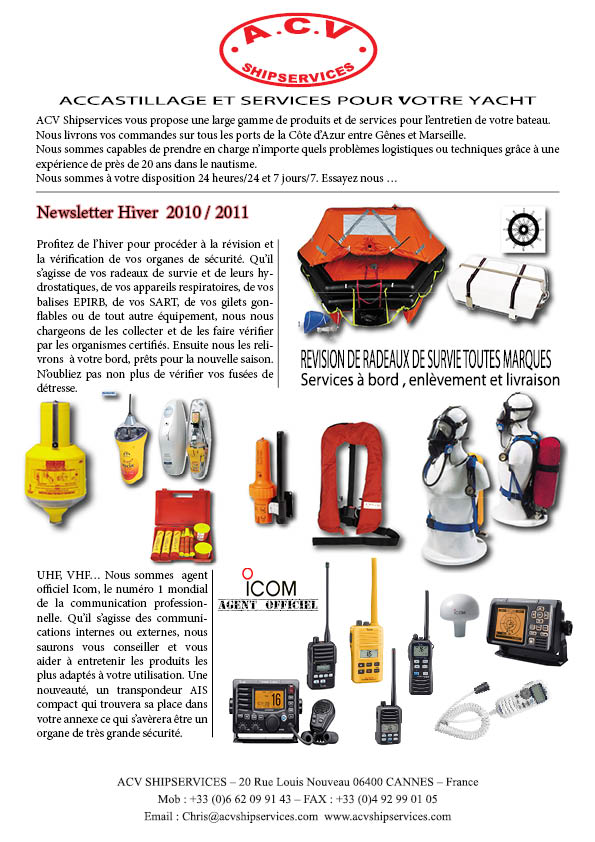 newsletter hivers 2010 1
